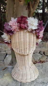 Corona flores Indira