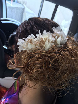 Semi- tiara flores Tamara