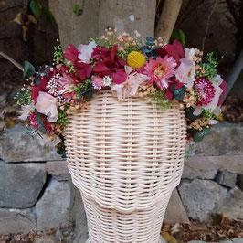 Corona de flores Sarai