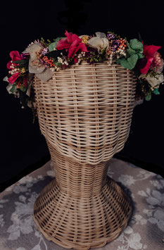 Corona de flores Alaya