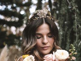 Tocado corona joya Andrea