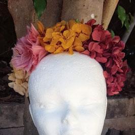 Diadema de flores preservadas Paz