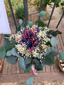 Ramo novia flor preservada 11