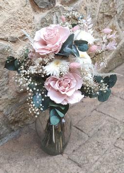 Ramo de novia flores preservadas 00