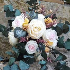Ramo novia flores preservada 12