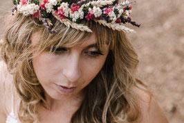 Corona de flores Anabel