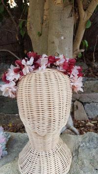 Semi-corona de flores Marta