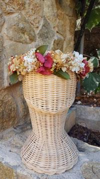 Corona flores Nanette