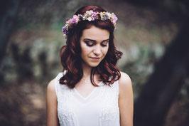Corona de flores  Belén