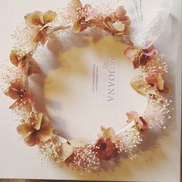 Corona de flores Irene