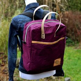 Making Backpack / Rucksack / Aubergine