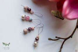 Pani *~* Maschenmarkierer ~ rosa & braun