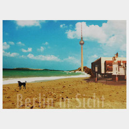 "Postkarte ""Strand Berlin-Mitte"""