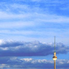 """Foto auf Acrylglas """"Berliner Fernsehturm in Sicht"""""""