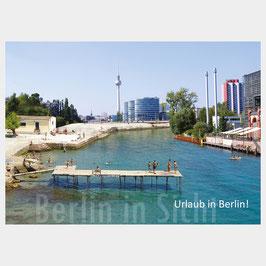 "Postkarte ""Urlaub in Berlin"""