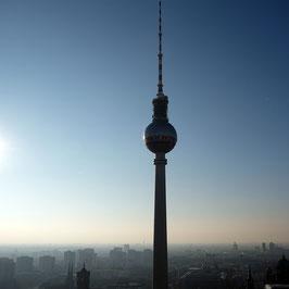"""Foto auf Alu-Dibond """"Berlin am Abend"""""""