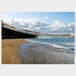 "Postkarte ""Berlin Tempelhofer Strand"""