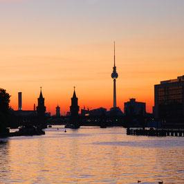 "Foto auf Acrylglas ""Berlin Sunset"""