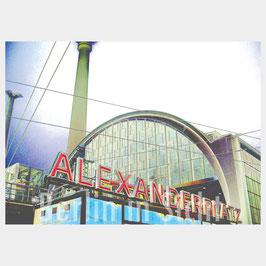 "Postkarte ""Berlin Alexanderplatz"""
