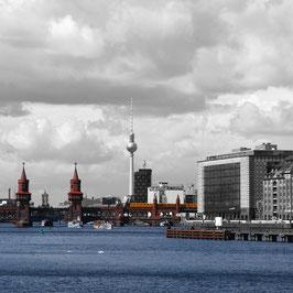 "Foto auf Acrylglas ""Berlin Oberbaumbrücke"""