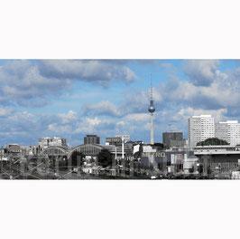 "Foto auf Acrylglas ""Blue Sky Berlin"""