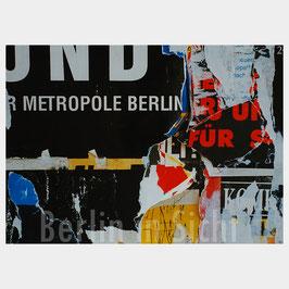 """Postkarte """"Metropole Berlin"""""""