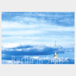 """Postkarte """"Berliner Fernsehturm in Sicht"""""""
