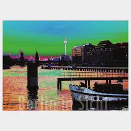 "Postkarte ""Berlin-Spreeblick"""