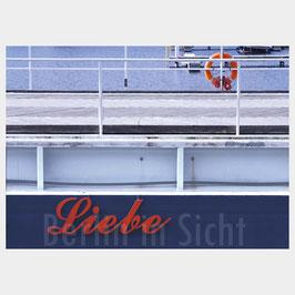 """Postkarte """"Liebe in Sicht"""""""