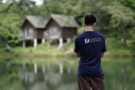 スラックラインリサーチ ロゴ Tシャツ ''Slackline Research Logo T-Shirts''