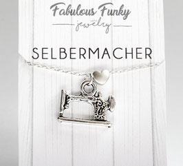 """Selbermacher"" - Nähmaschinen-Kette"