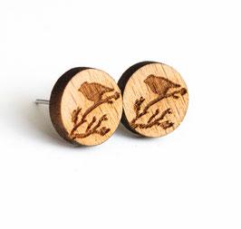 Vogelohrstecker Holz