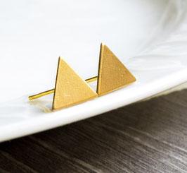 Dreieckohrstecker Gold