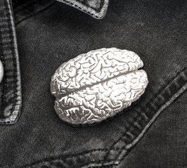 "Funky ""Gehirn"" Pin - Patch mit Nadel"