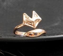 Fuchsring silber/Gold/Rosegold