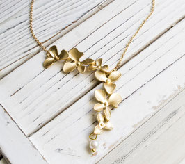 Orchidee Flowers Kette