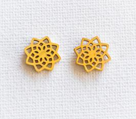 Flower Ohrstecker Mandala