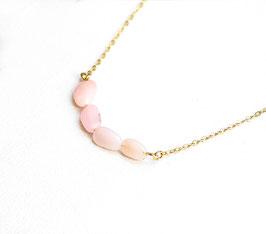 Pastell Stone - Rosa / Creme