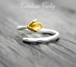 kleiner Knospen Ring