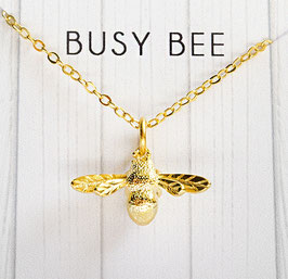 """Busy bee"" - Bienenkette"