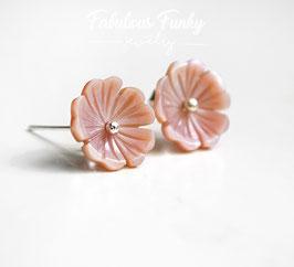 Perlmutt Blüten - Rosa
