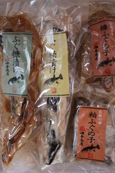 油与商店 おためし糠漬け粕漬けセット【ご自宅用】
