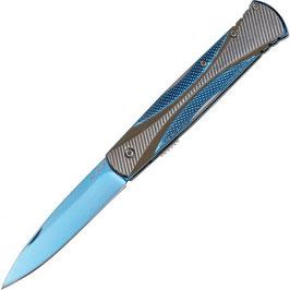 Haller Taschenmesser Stiletto blue