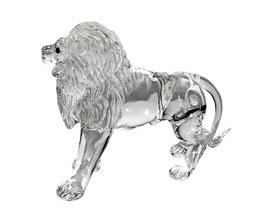 Löwe aus Glas 9cm