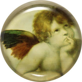 Glasmagnet Kühlschrankmagnet Engel