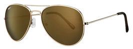 Zippo Sonnenbrille PILOT GOLD FLASH