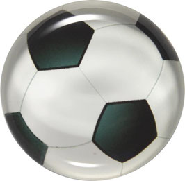 Glasmagnet Kühlschrankmagnet Fußball