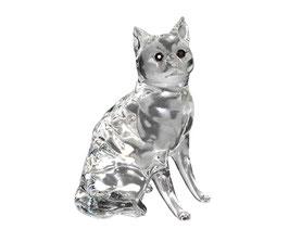 Katze aus Glas