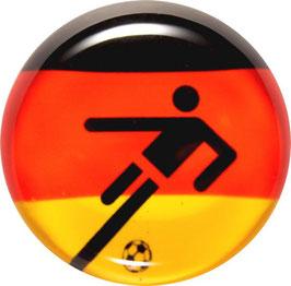 Glasmagnet Kühlschrankmagnet Spieler Deutschland
