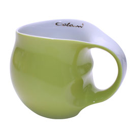 "Colani Keffeebecher JUMBOBECHER ""ab ovo"" grün"